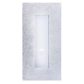 Зеркало интерьерное, серебро, дерево, 50х100 см