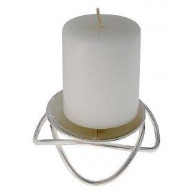 Подсвечник на 1 свечу Modern, диаметр 12 см, высота 4 см
