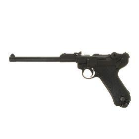 Макет самозарядного пистолета Люгера удлиненный, Парабеллум, 9 мм, Германия, 1900 г.