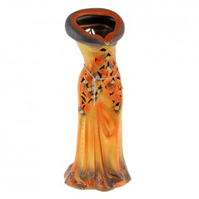 Ваза напольная форма Платье резка