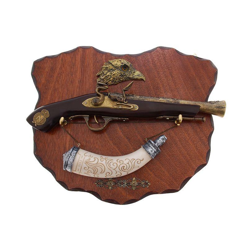 Сувенирное изделие мушкет и расписной рожок
