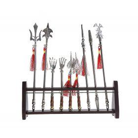 Сувенирное изделие набор оружия 9 шт. на подставке