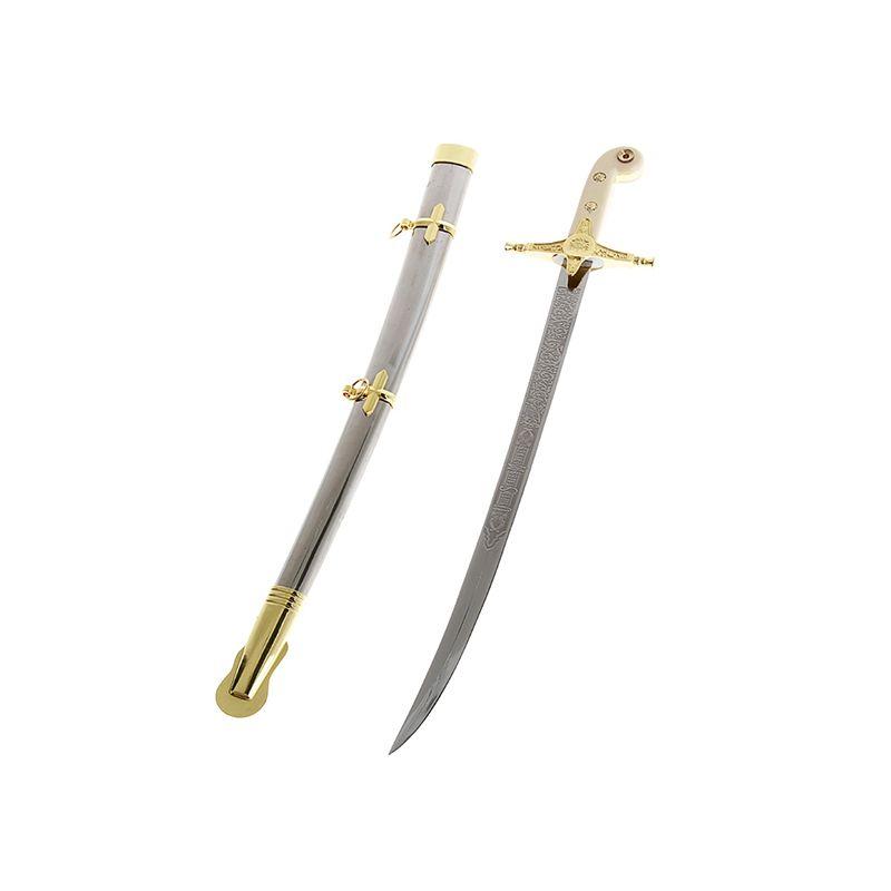 Сувенирное изделие меч, рукоять под белую кость