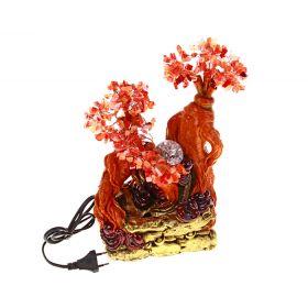 """Фонтан-дерево """"Тайна"""", красный"""