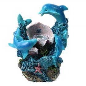 """Фонтан """"Дельфины и ракушка"""""""