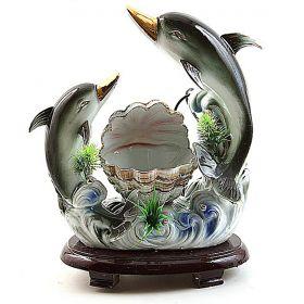"""Фонтан - увлажнитель """"Дельфины"""", под фарфор"""