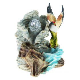 Фонтан цапля машет крыльями 20 см