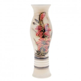 Ваза напольная форма Даша роспись акрил цветы 61см
