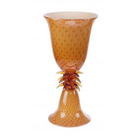 """Ваза из муранского стекла """"Хорватия"""", высота 46,5 см, диаметр 23,5 см"""