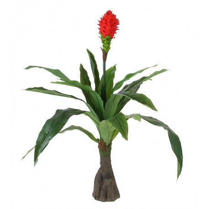 Куст искусственный с цветком