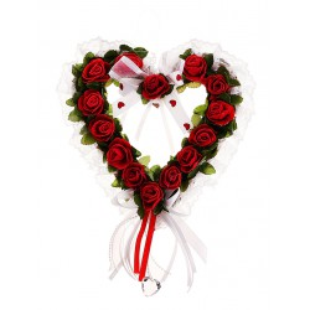 Сердце украшения для зала красное