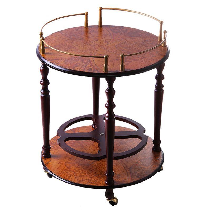 Обеденный столик на колесиках,