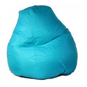 Кресло-мешок Пятигранный d82/h110 цв 7 biruza нейлон 100% п/э