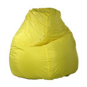 Кресло-мешок Пятигранный d82/h110 цв Jordan-bonding yellow 14 нейлон 100% п/э