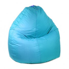 Кресло-мешок Универсальный d90/h120 цв 7 biruza нейлон 100% п/э