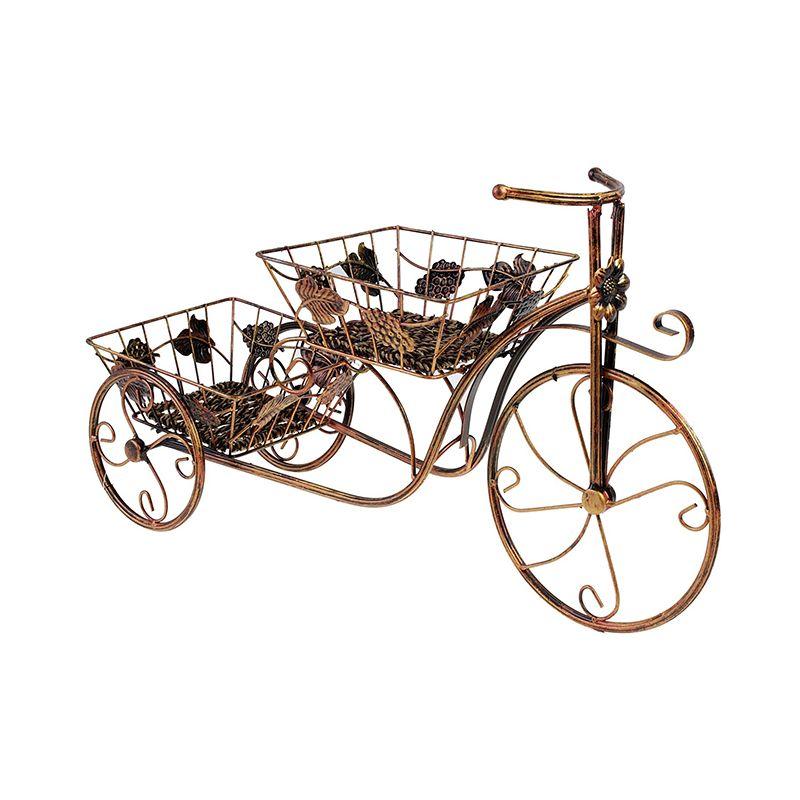 """Подставка для цветов """"Велосипед"""", 2 яруса"""