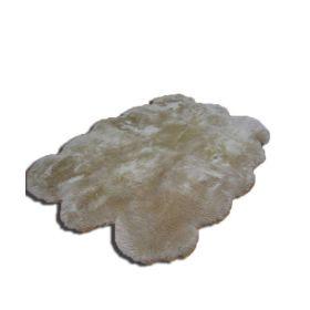 Шестишкурная новозеландская овчина,бежевая