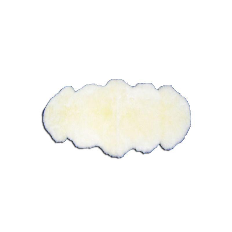 Коврик из овчины M 2 шк.белая