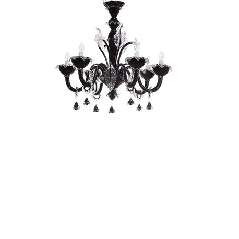 Потолочный светильник (черный)