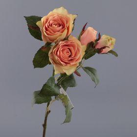 """Цветок искусственный """"роза"""" длина39 см."""