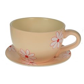 Цветник садовый чашка ромашки 33*26*17см