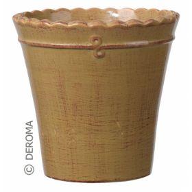 Кашпо макрамэ вазо микс 21см