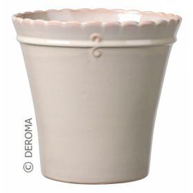 Кашпо макрамэ вазо микс 14см