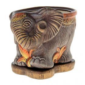 Горшок Слон малый акрил 3,7л Н24 d21*27