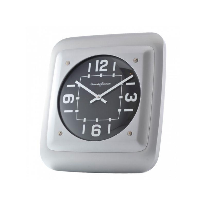 Часы настенные 34*39 черн./ал.