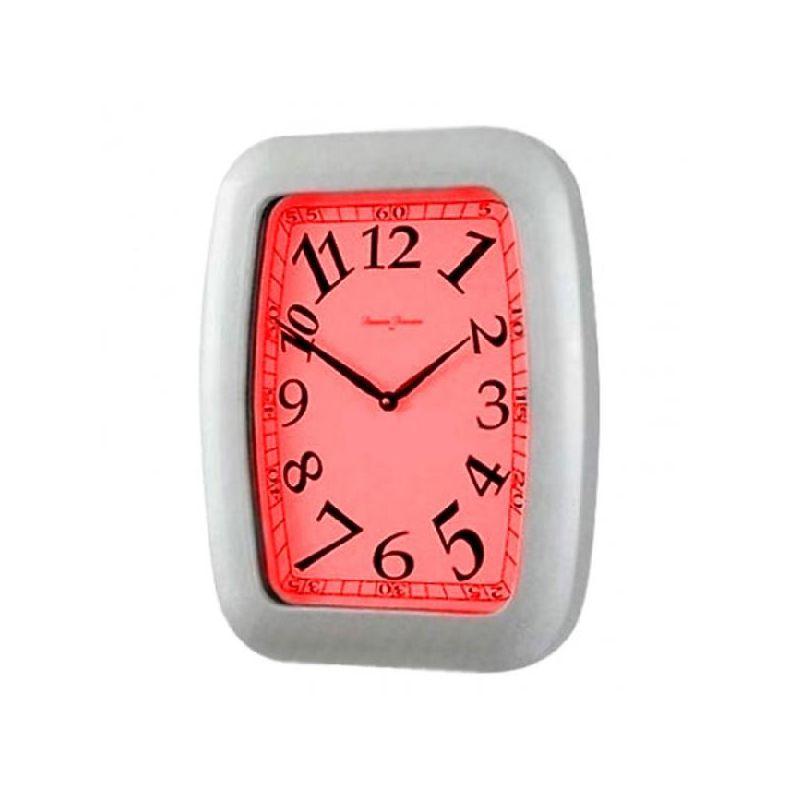 R часы настенные 40*34 red