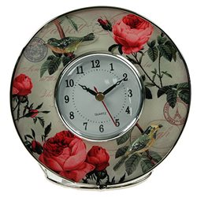 Часы Пион 17*17*7см