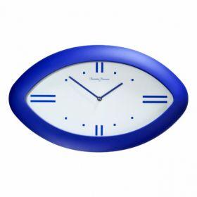 Часы настенные 44*26 бел./син.