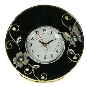 Часы бархатная ночь 13*5*12см