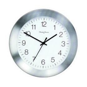 Часы настенные, алюминий, d.28см