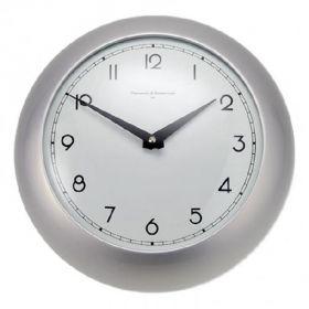 Часы настенные, алюминий, d.26.5см
