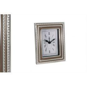 Часы настольные Tortora (металлик)