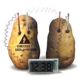 Часы картофельные урок физики