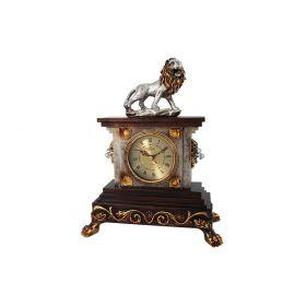 Часы настольные Лев