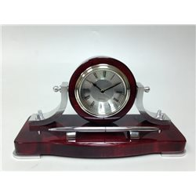 Прибор настольный (часы, ручка)