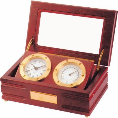 Часы настольные с термометром A9033