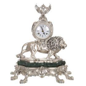 """Часы настольные """"лев"""" высота51 см."""