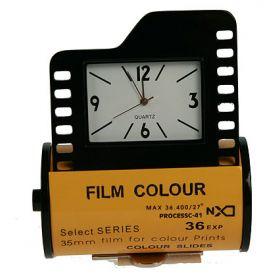 Часы настольные фотопленка 6*2*7см