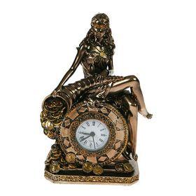 Часы настольные римская богиня счастья и удачи - фортуна 20см