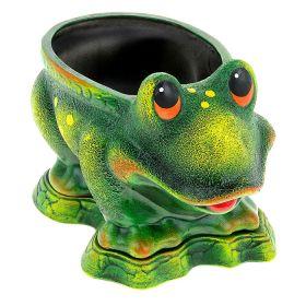 Кашпо Лягушка керамика