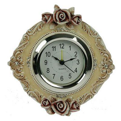 Часы настольные розы 15*7*16см