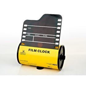 """Часы настольные электронные """"кинематограф"""" h20,5см. l16см. (с адаптером) (без подарочной упаковки)"""