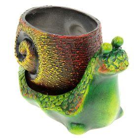 Кашпо Улитка керамика