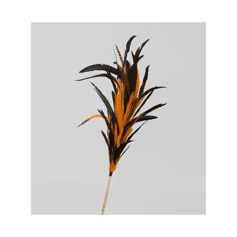 14-056 Декоративный веничек из перьев (о. Бали)