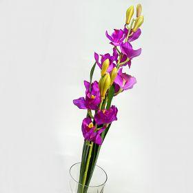 """Цветок иск.""""цимбидиум фиолетовый"""""""