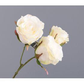 """Цветок искусственный """"роза"""" длина37 см."""